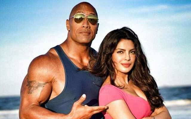 Priyanka Chopra, Dwayne Johnson