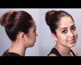 Get summer chic with this super-easy top knot