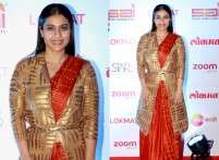 Kajol's sari gives us winter wedding style inspo