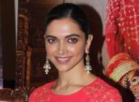 Deepika Padukone wears a dress with an ethnic twist