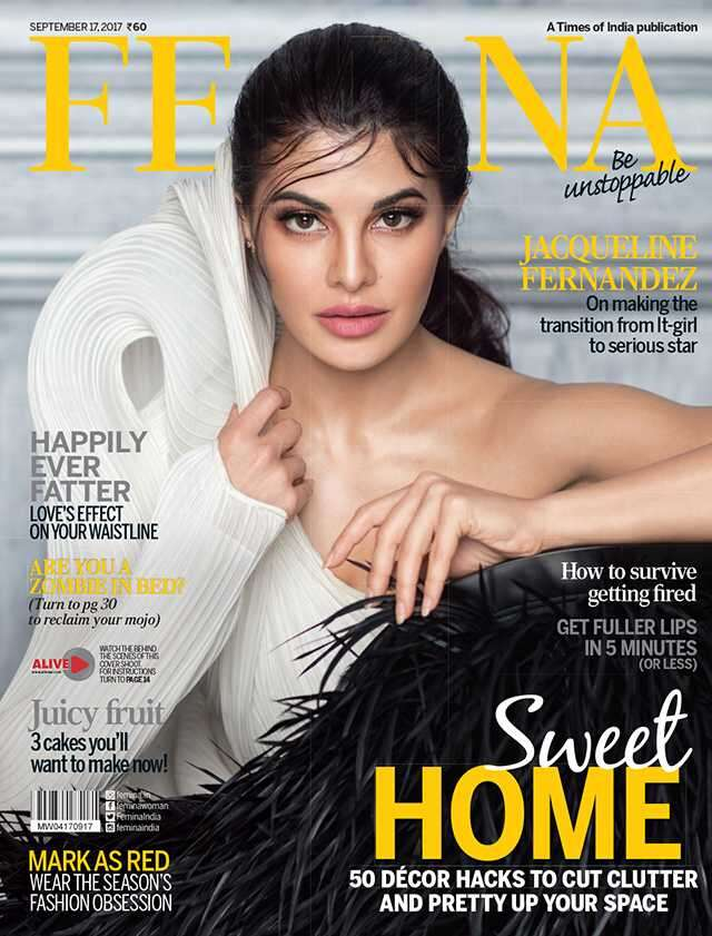 JacquelineFernandez on Femina cover