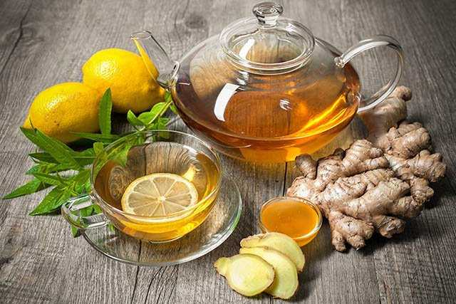 ginger-honey relieve muscle spasms
