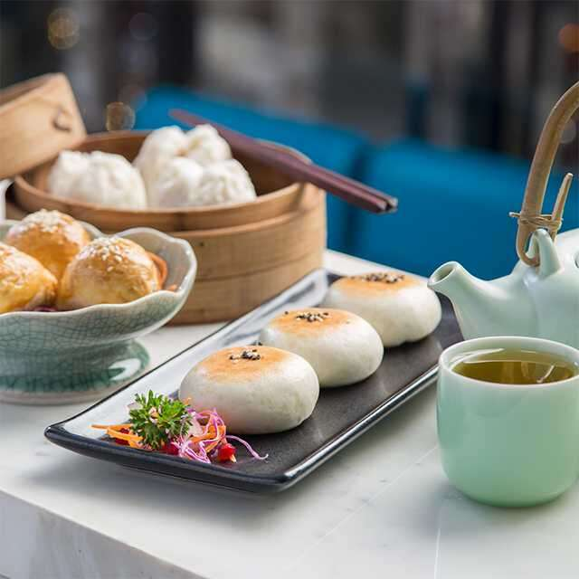 Tea and dim sum