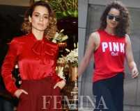 Red alert: Kangana Ranaut rocks the season's fave hue
