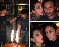 Photos from Saif Ali Khan's intimate birthday bash