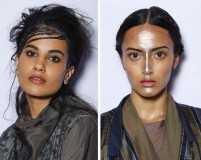 Day 2: Beauty trends from LFW Winter/Festive '17