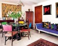 A home that revels in colours, textures and art