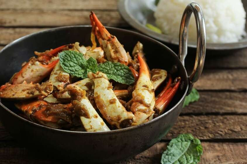 Sri Lankan crab curry