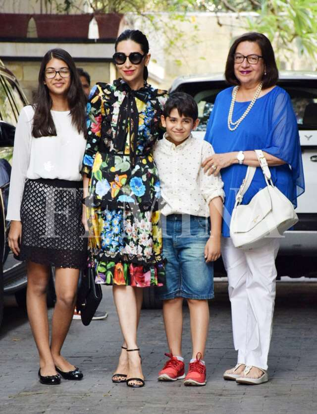 Kapoor family Xmas brunch