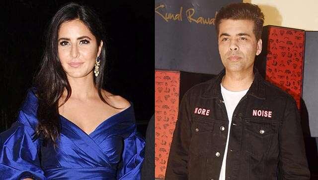 Katrina and Karan Johar