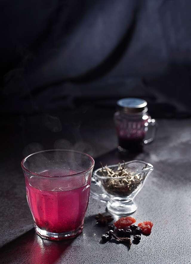 Rum-raisin tea