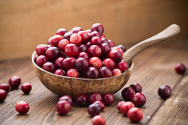 cranberry facial mask