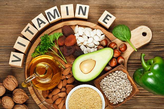 Vitamin E food sources for hair