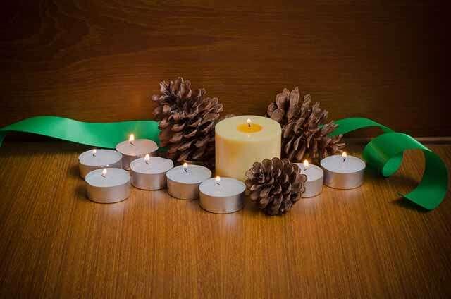 Pine, aroma candles, Femina