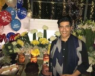 Inside photos of Manish Malhotra's surprise 52nd birthday bash