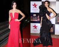 Bollywood beauties flaunting their glittering gowns