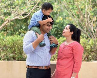India's youngest single dad Aditya Tiwari got hitched!