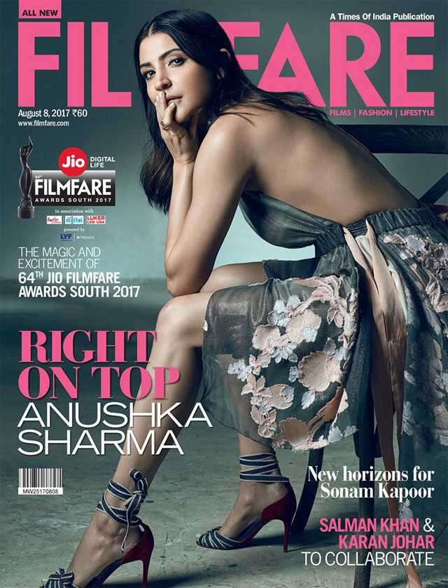 Filmfare - Anushka Sharma