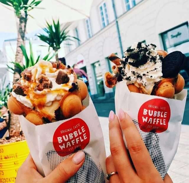 bubble waffle at bubblewafflewarsaw_in