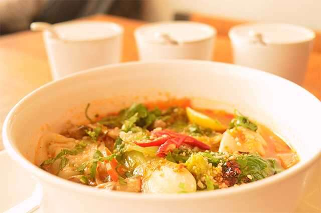 Jhol soup momo