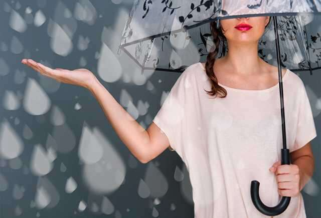 beauty risks during the rains