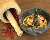 A three-course coastal meal