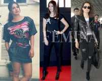 Copy Kangana, Anushka and Priyanka's rock chick looks