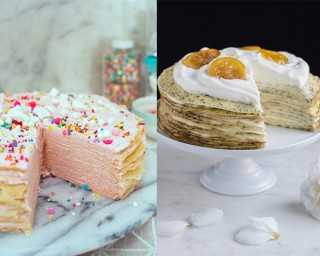 Layered crepes—the new cakes on the block