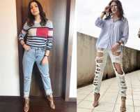 The only denim trend that our B-town divas swear by