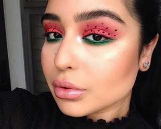Watermelon makeup is the new juicy beauty trend