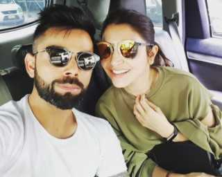 Cute photos alert! Virat and Anushka's romantic adventures