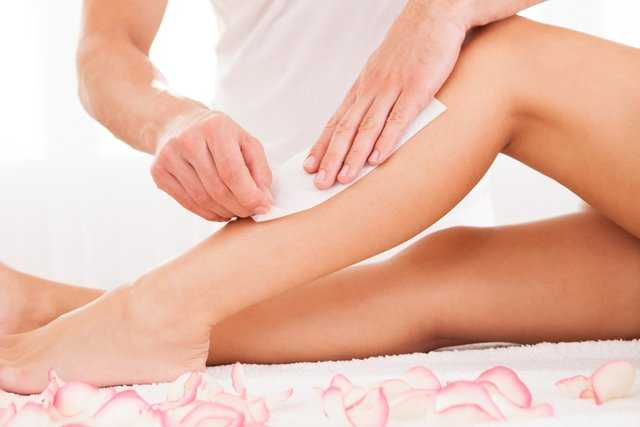 Waxing for Hair Removal