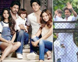Shah Rukh and Gauri Khan have low-key Eid celebrations at home