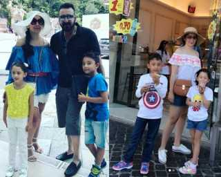 Coolest holiday pictures of celebs and their kids