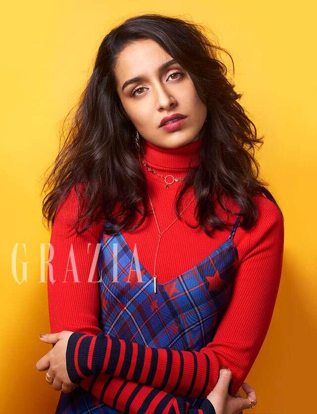 Shraddha Kapoor Photoshoot For Grazia Magazine