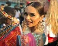 Manushi Chhillar rocks a desi avatar