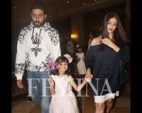 Photos: Abhishek and Aishwarya celebrate Aaradhya's birthday