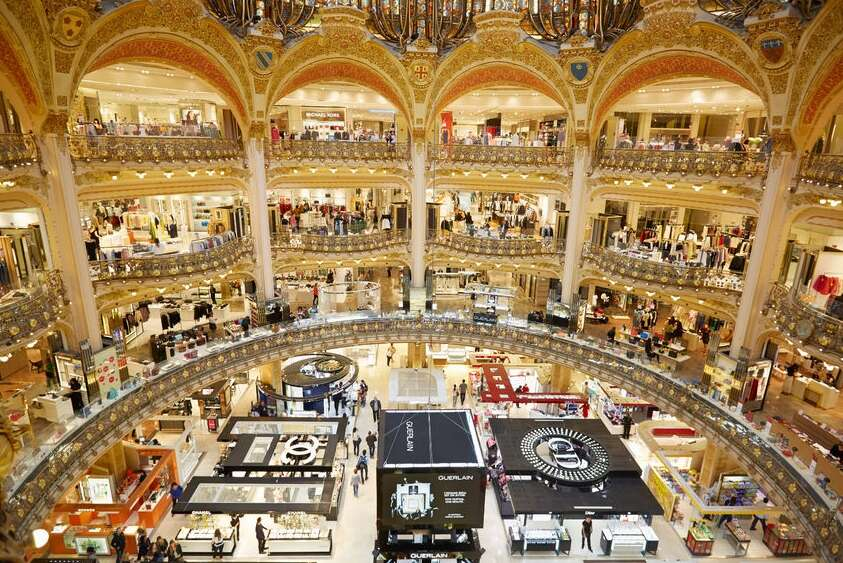 Galeries Lafayette-Paris