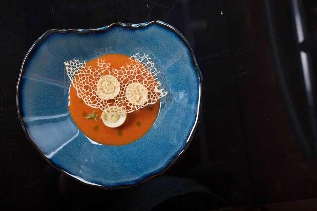 Kode  - Artisanal tomato soup, ricotta tortellini
