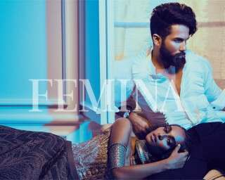 All the action from Shahid Kapoor's Femina cover shoot