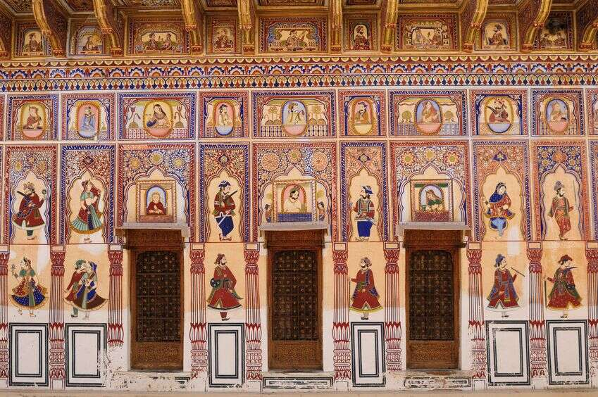 Shekhawati-painted-havelis