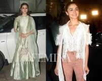 We totally approve Alia's grown-up fashion choices