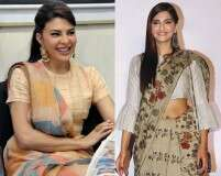 The designer behind Sonam and Jacqueline's cool saris