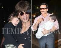 Adorable photos of Bollywood celeb dads with their kids