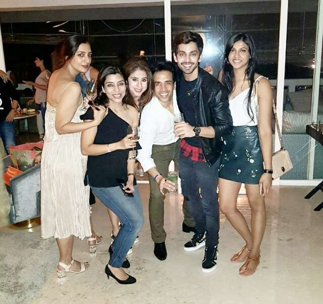 Tusshar celebrates his birthday with close friends at a sun downer hosted by nandita mahtani