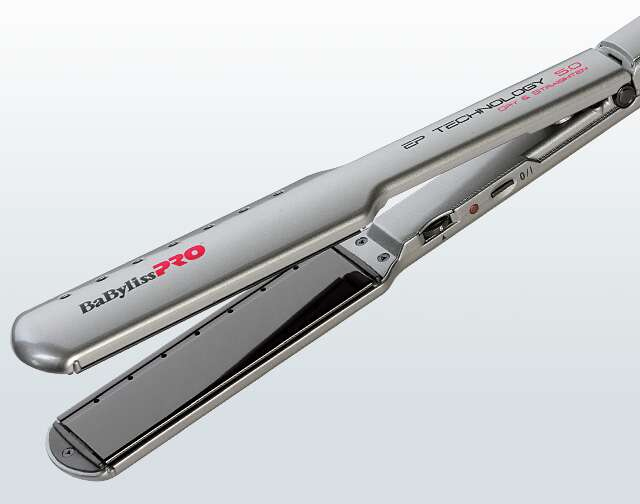 BaByliss Pro EP Technology 5.0 Dry & Straighten Hair Straightener