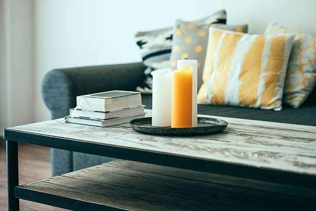Femina, coffee table, books, decor