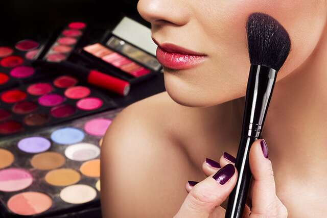 Applying your blush wrong