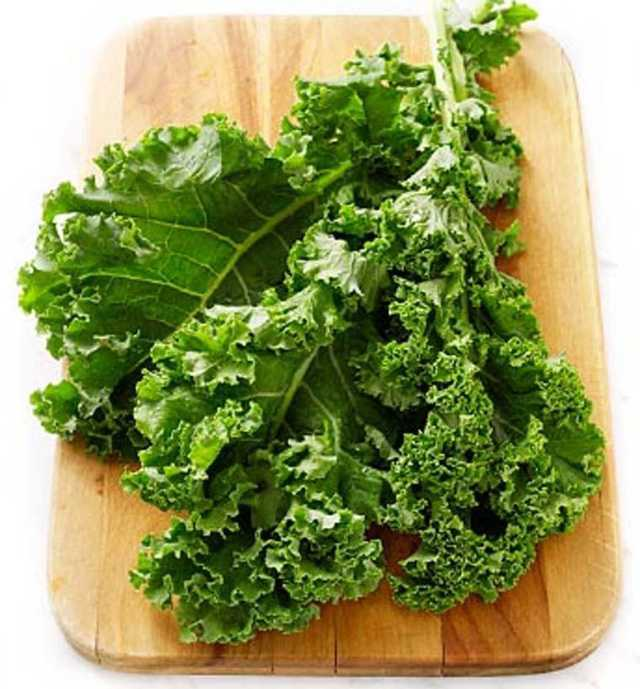 Kale vitamin and fibre-rich