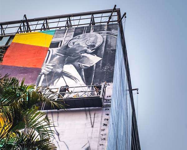 Mumbai's Churchgate Station gets an artistic facelift